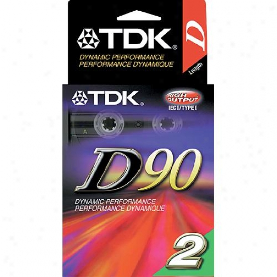 Tdk Dynamic C90 (2 Pack)