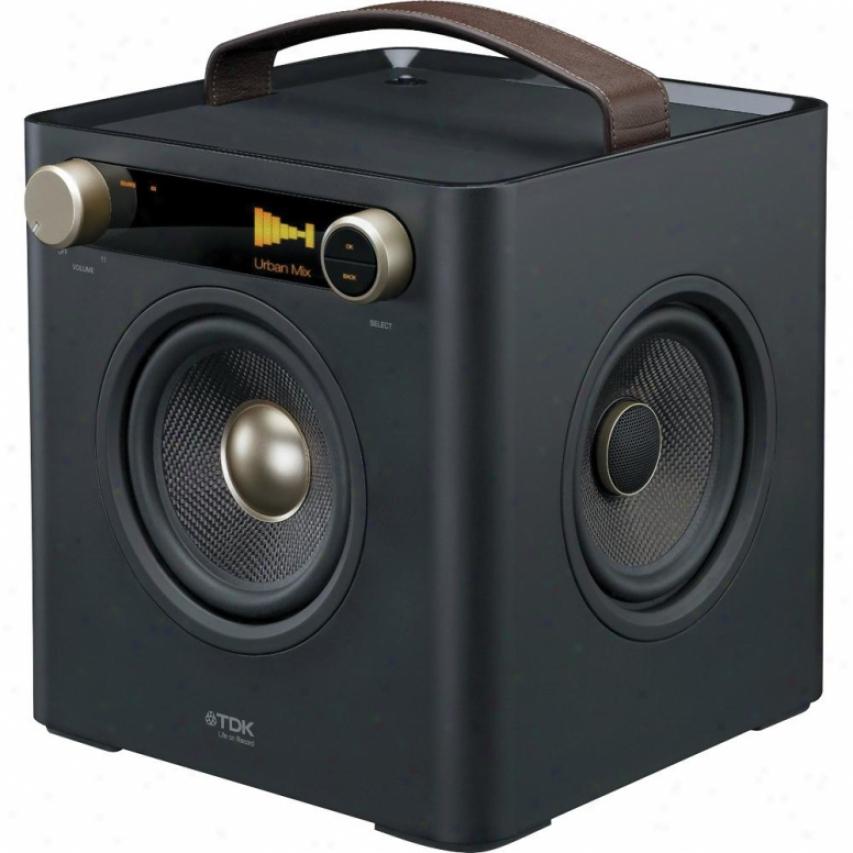 Tdk Sound Cube Audio System - Black - 77000015410