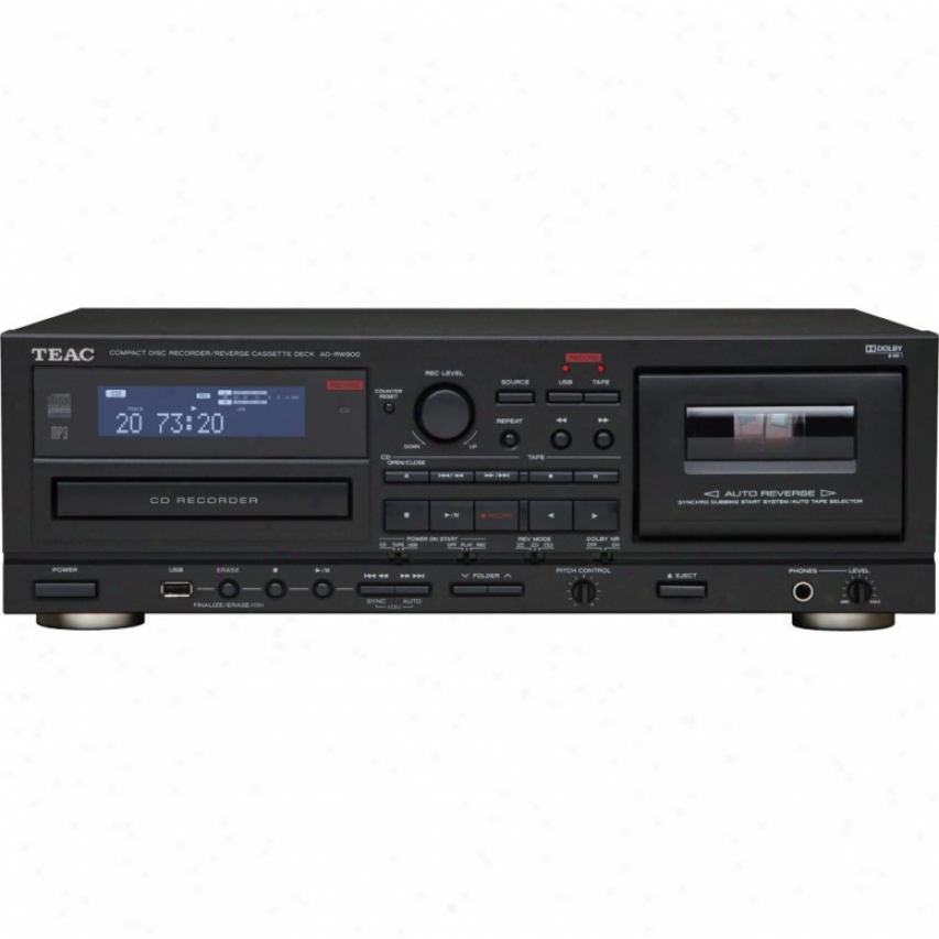 Teac Ad-rw900 Cd Recorder With Cassette Deck