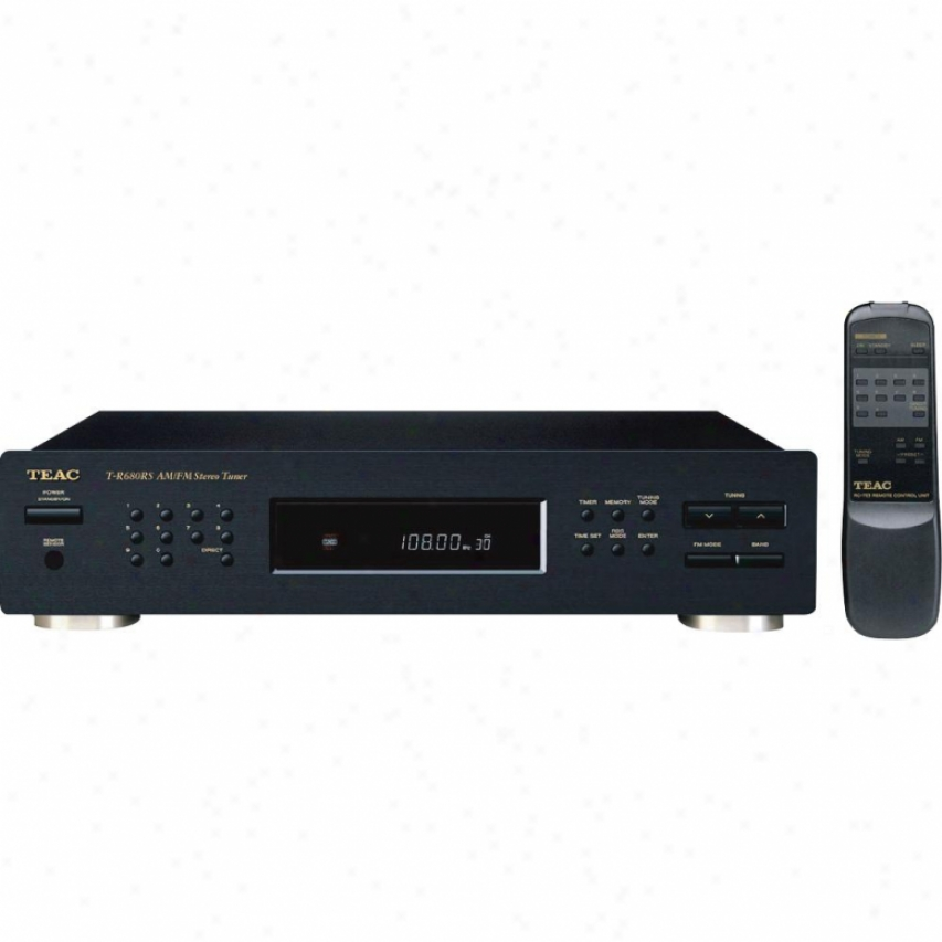 Teac Am/fm Stereo Pll Tuner W/full Remote & Flourescent Display