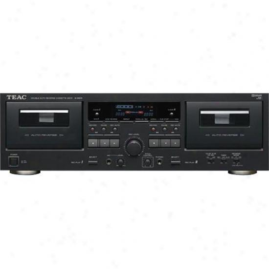 Teac Double Auto Reverse Cassette Deck - W890r
