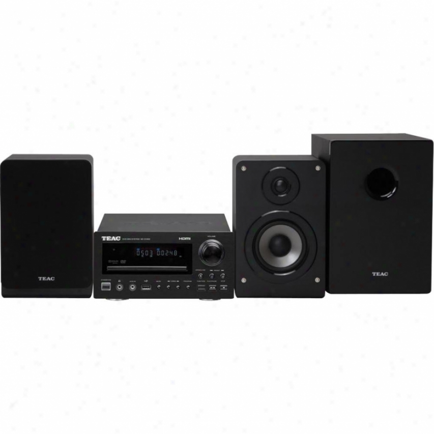 Teac Mc-dv600 Dvd Micro System With Speaker Set