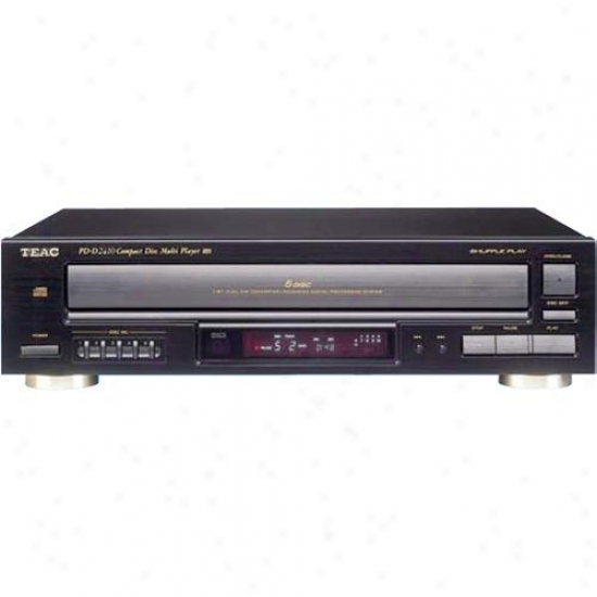 Teac Pd-d2610 5 Cd Player/changer With Remote