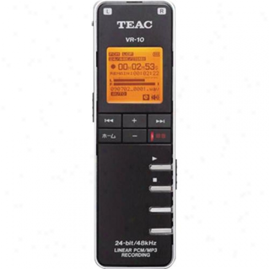 Teac Vr-10 Pocket Sise Digital Voice &zmp; Music Recorder