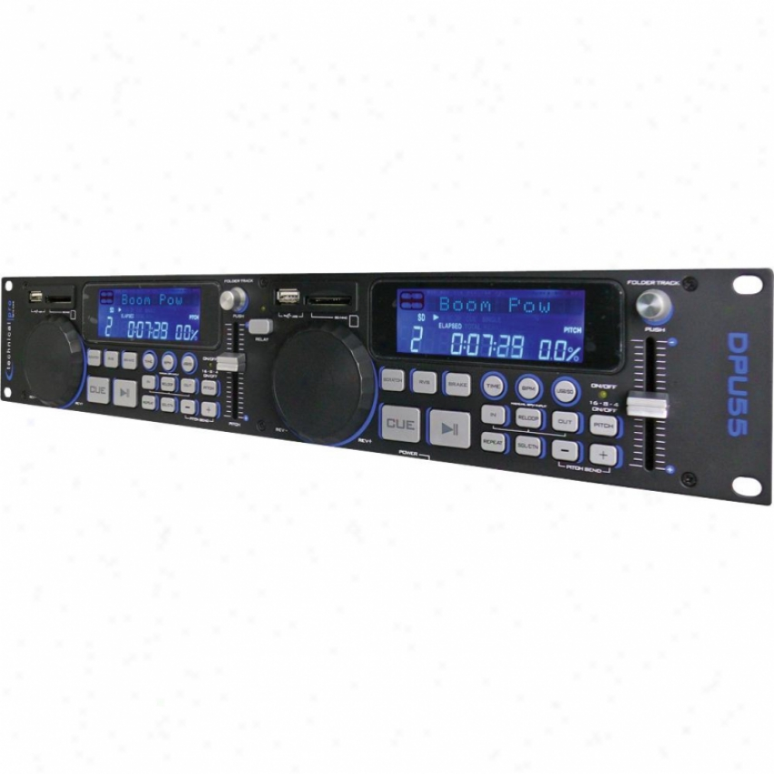 Technical Pro Dpu55 Professional Double Usbb/sd Player