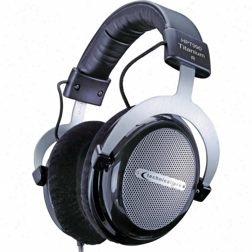 Technocal Pro Hpt990 Professional Headphones