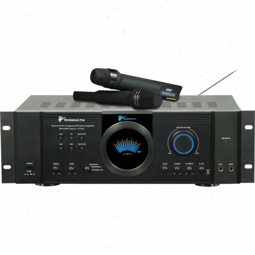 Technical Pro Integrated Amplifier Ia-w852