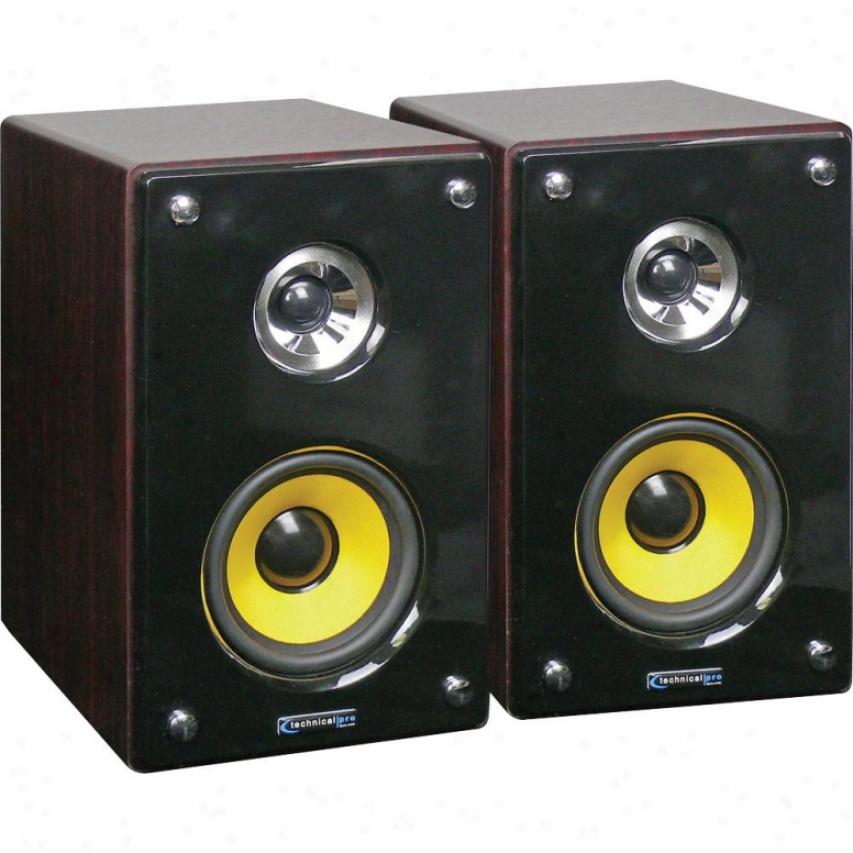 Technical Pro Mrs53u Active & Passive Usb Studio Monitors