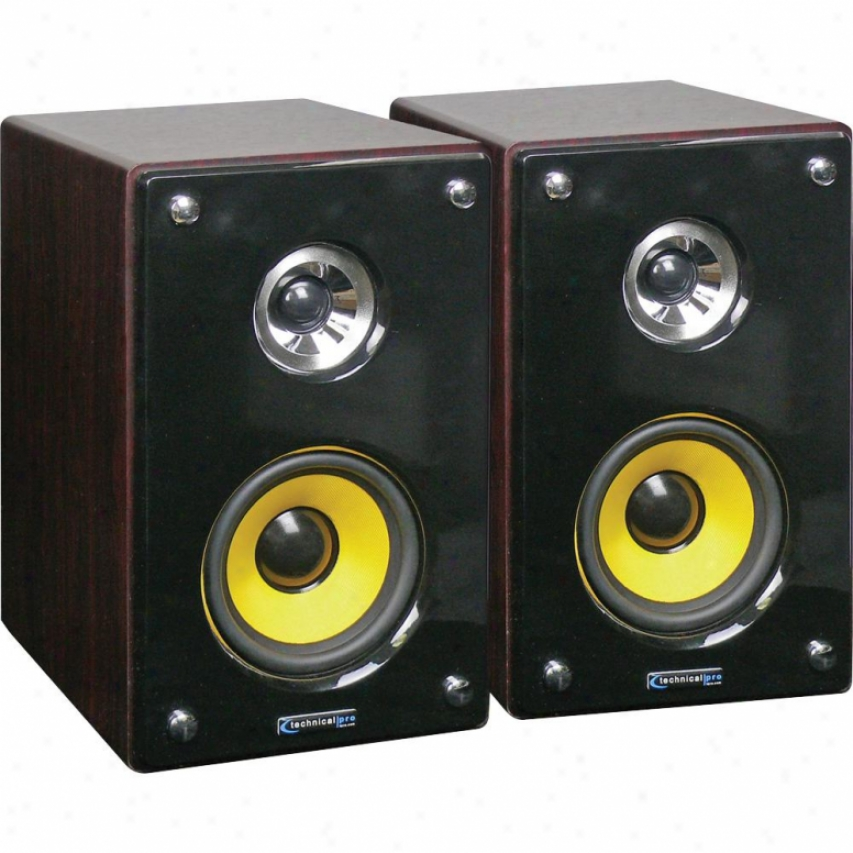 Technical Pro Mrs83u Atcive & Passive Usb Studio Monitors