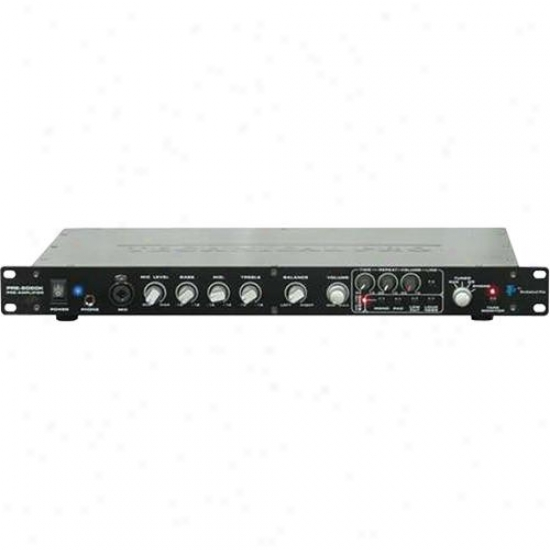 Technical Pro Preb5050 Professional 2Passage Pre-amplifier - Black