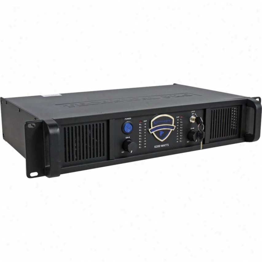 Technical Pro Professional 2ch Power Amplifier - Black