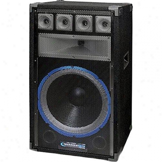 Technical Pro Pvrtx15 15-inch Powered Full-range Uab Speaker W/ Power Output