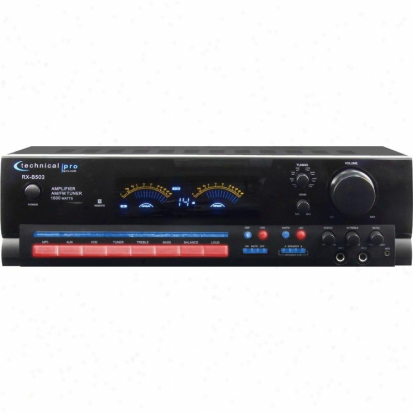 Technical Pro Rx-b503 Stereo Receiver