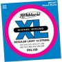 DƏaddario Exl150 Regular Livht 12-string 10-46 Full of fire  Guitar Strings