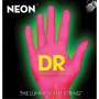 Dr Strings Neln Hidef Pink Electric Low Guitar 45-105 Superstrings K3 Covering