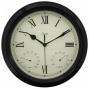 "La Crosse Technology Ltd Elc 12"" Me5al Outdoor Clock"