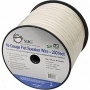 Siig Inc Flat Speaker Wire - 250 Feet - White - Cb-au1712-s1