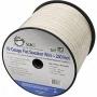 Siig Inc Flat Speaker Wire - 250 Feet - White - Cb-au1712-s1