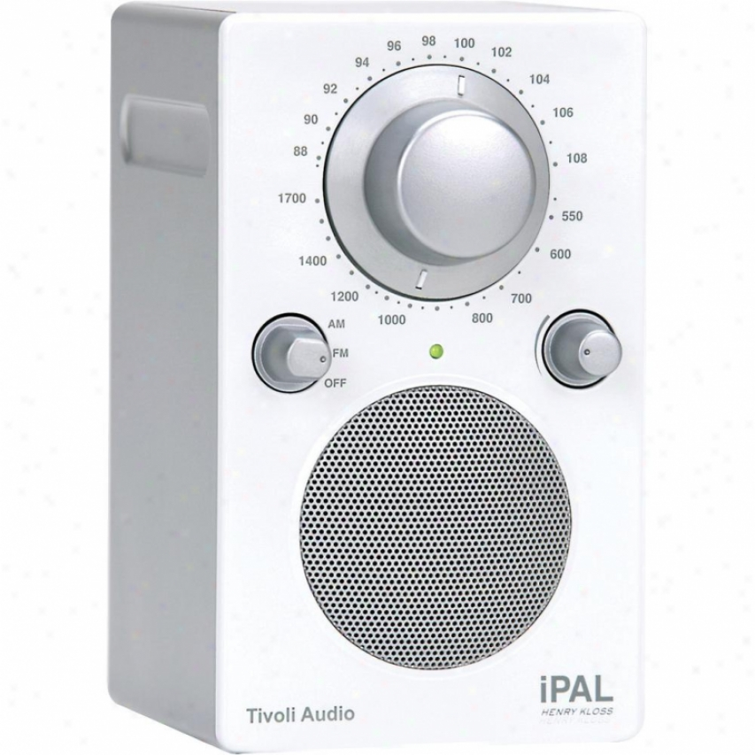Tivoli Audio Ipal Portable Audio Laboratory (pal) In Ipod White