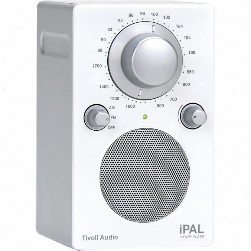 Tivoli Audio Ipal Portable Audio Laboratory (pal) In Ipod White