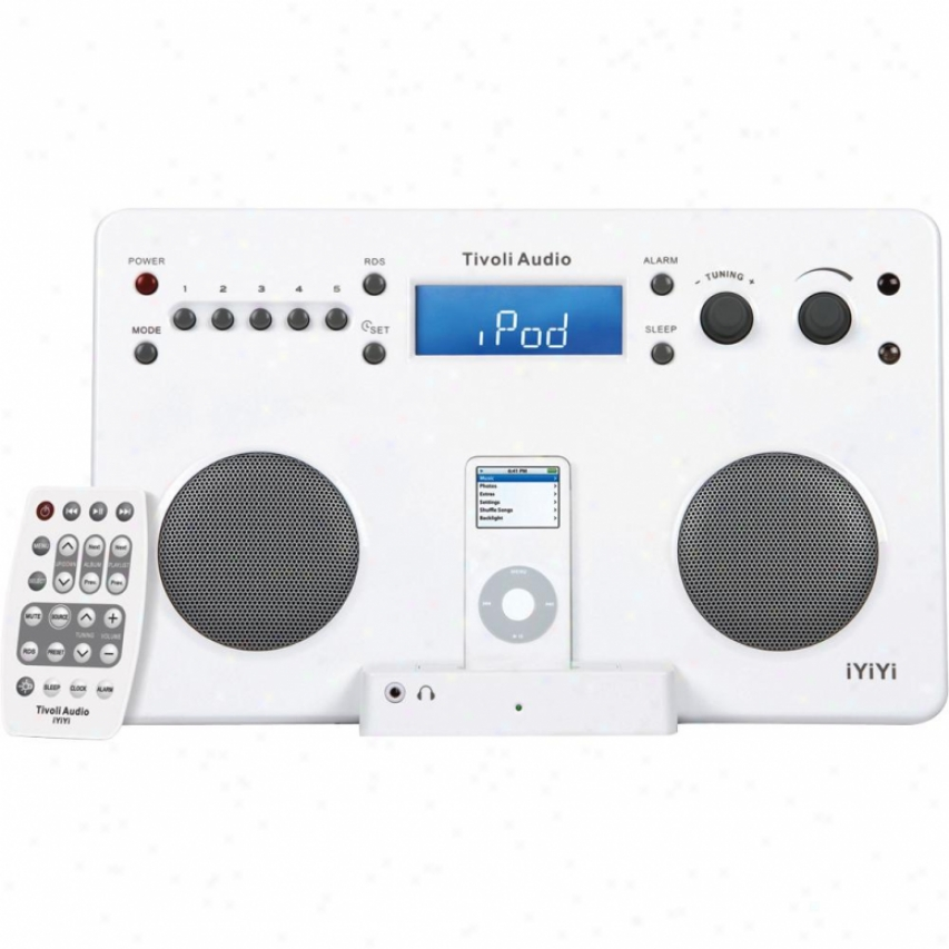 Tivoli Audio Iyiyi High-fidelity Stereo System For Ipod - Gloss White