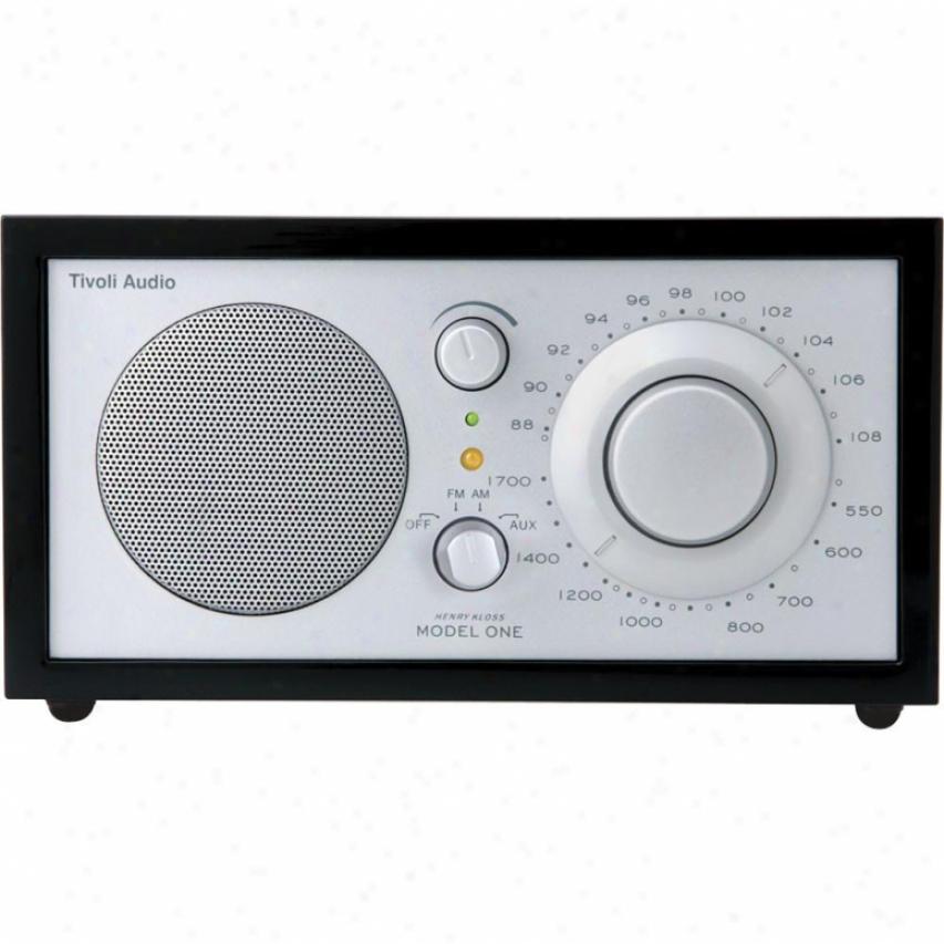 Tivoli Audio Kloss Model One Am/fm Table Radio ( Black Piano Gloss )