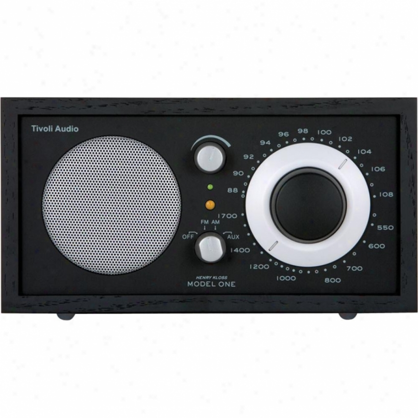tivoli audio kloss model one am fm table radio black audio accessories online catalog with. Black Bedroom Furniture Sets. Home Design Ideas