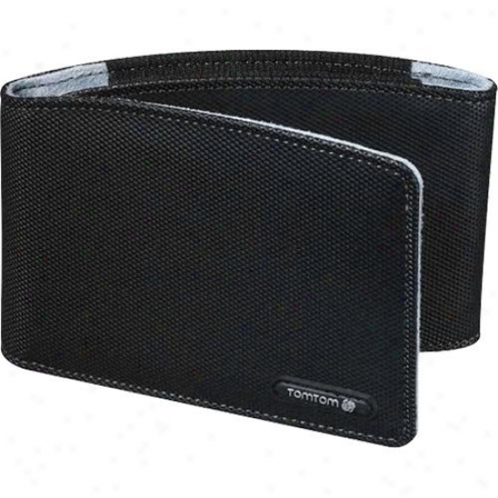"Tomtom Carry Case For 4.3"" & 5"" Gps - Black - 9uua.017.02"
