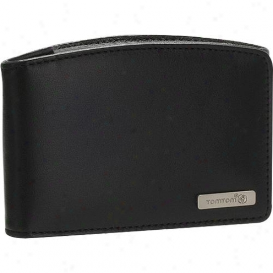 """Tomtom Universal Leather Carry Case In quest of 4.3"""" & 5"""" Gps - 9uua.052.05"""
