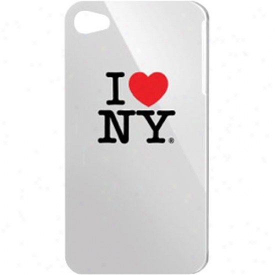 "Tribeca ""i Love Ny"" Hard Shell Case For Ipod Touch 4th Gen - White"