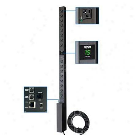 Tripp Lite 120v Switched Rm W/ Plug Reten