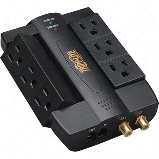 Tripp Lite Htswivel6 Internal Business Theater Surge Suppressor