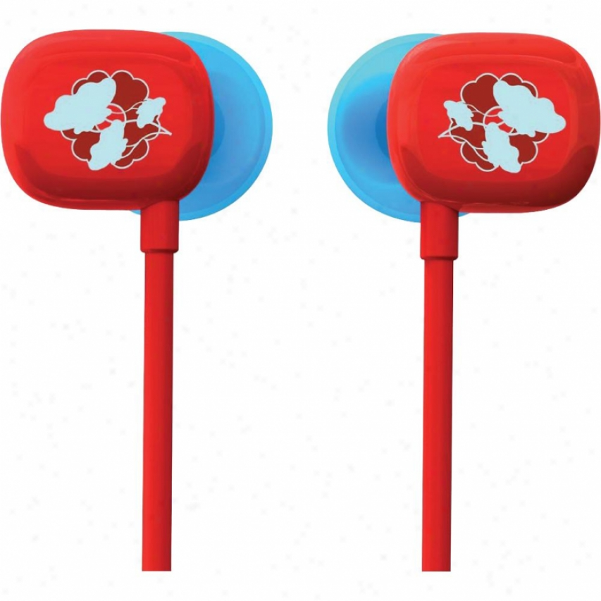Ultimate Ears 100 Noie-isolating Earphones - Red