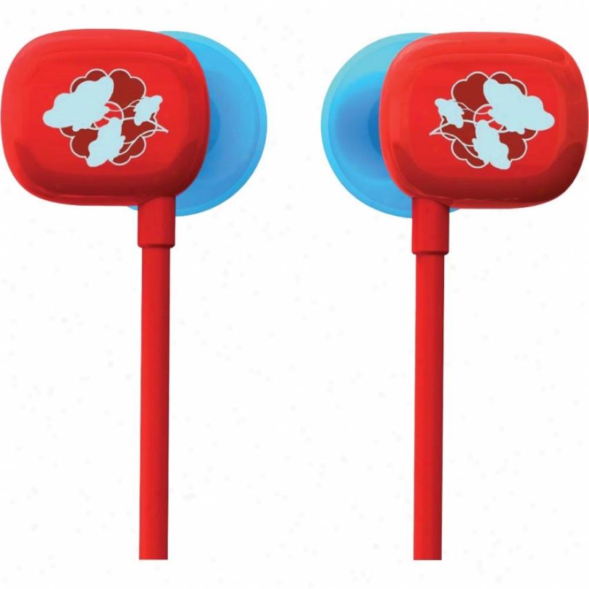 Ultimate Ears 100 Noie-isolating Earphones - Red