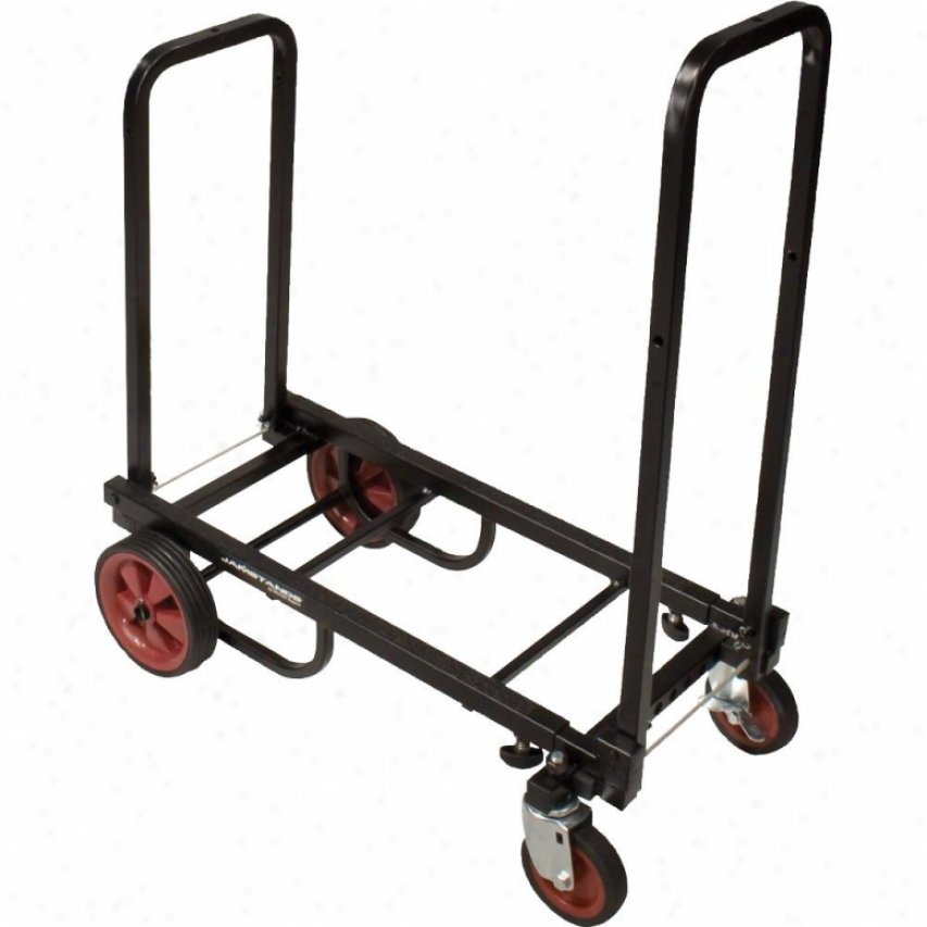 Ultimate Support Js-kc80 Krama Cart Adjustable Pro Equipment Cart - Small Size