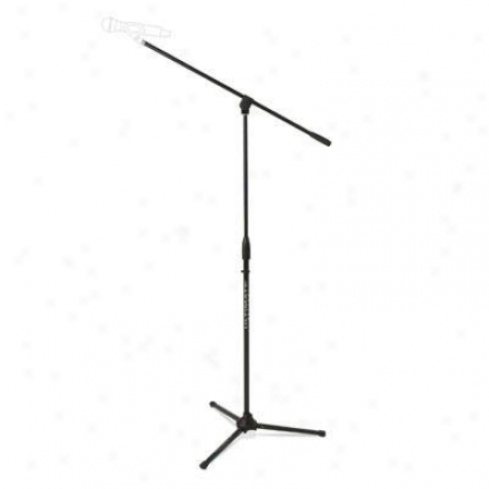 Ultimate Aid Mic Stand With Boom Pkg, Blk