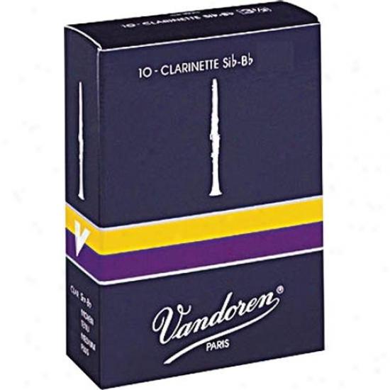 Vandoren Cr1025 Orally transmitted Bb Clarinet Reeds - Strength 2.5