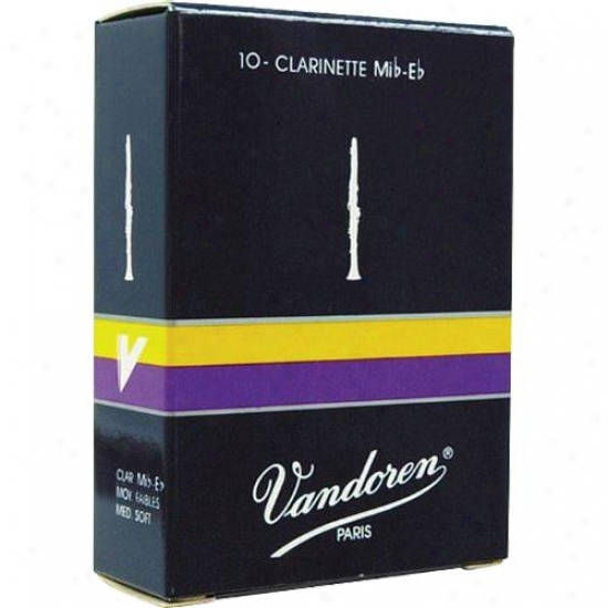 Vandpren Cr112 Eb Clarinet Reeds - Strength 2