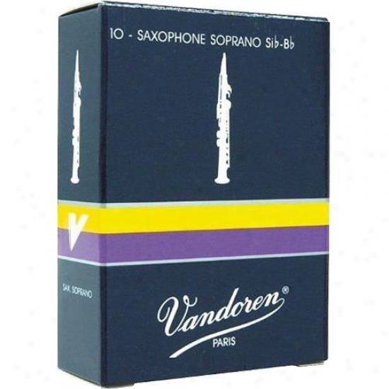 Vandoren Sr203 Soprano Saxophone Reeds - Strength 3