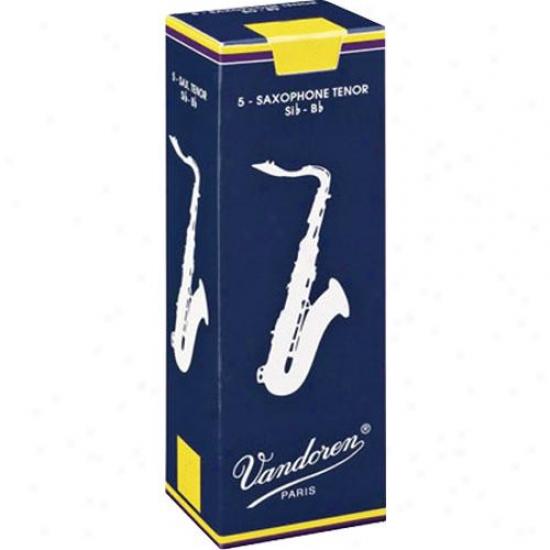 Vandoren Sr222 Tenor Saxophone Reeds - Strength 2