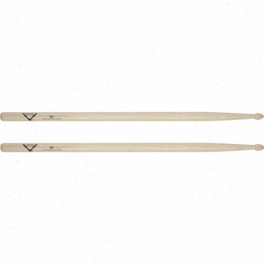 Vater 5b Drumsticks - Wood Tip - Vh5bw