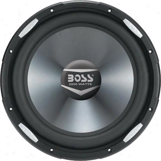 "Vehicle 2200 Watts 1O"" Dual 4-ohm Voice Coil Subwoofer"