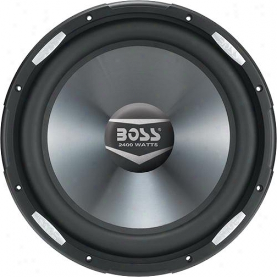 """Vehicle 2400 Watts 12"""" Dual 4-ohm Voice Coil Subwoofer"""