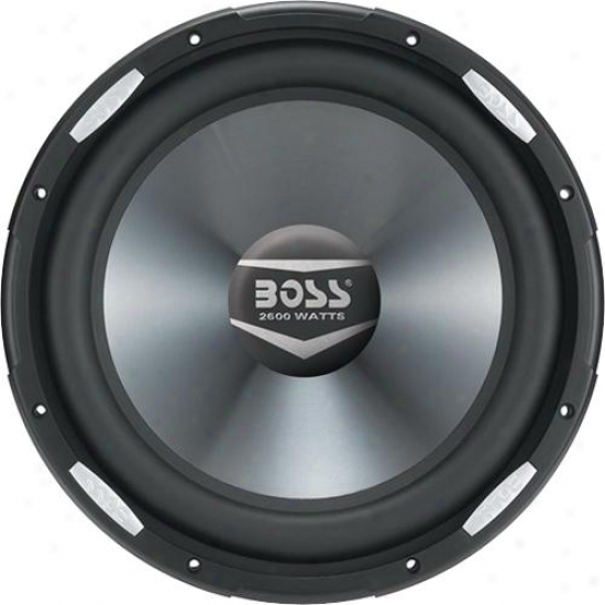 "Vehicle 2600 Watts 15"" Dual 4-ohm Vpice Coil Subwoofer"