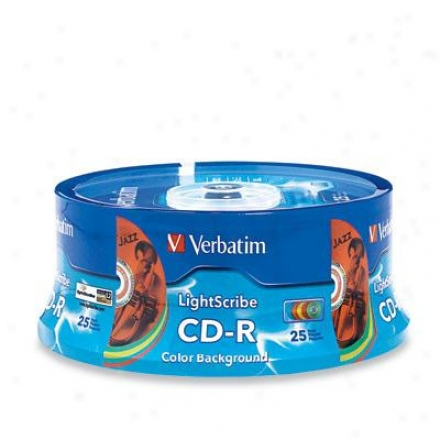 Verbatim Cd-r 80min 700m 52x Color 25pk
