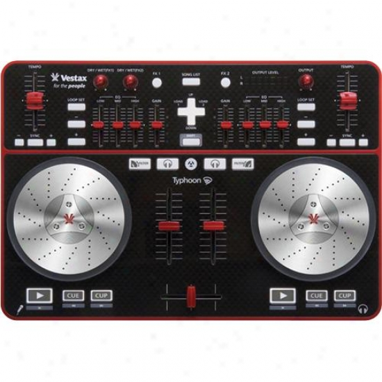 Vestax Corporation Typhoon Usb Dj Midi Controller