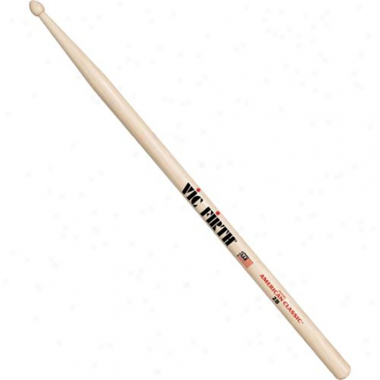 Vic Firth 2b American Classic Hickory Drumsticks