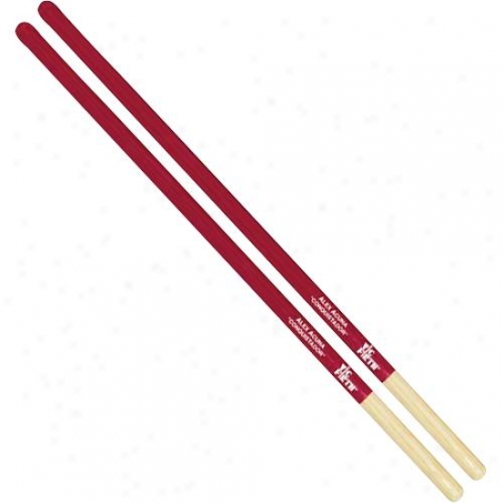 Vic Firth Saa Alex Acuna Signature Tmbale Sticks - Red