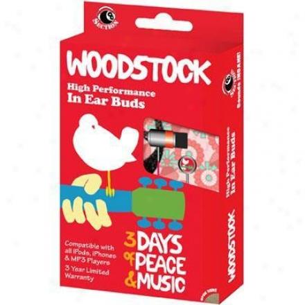 Victory Multimedia Woodstock In Ear Buds