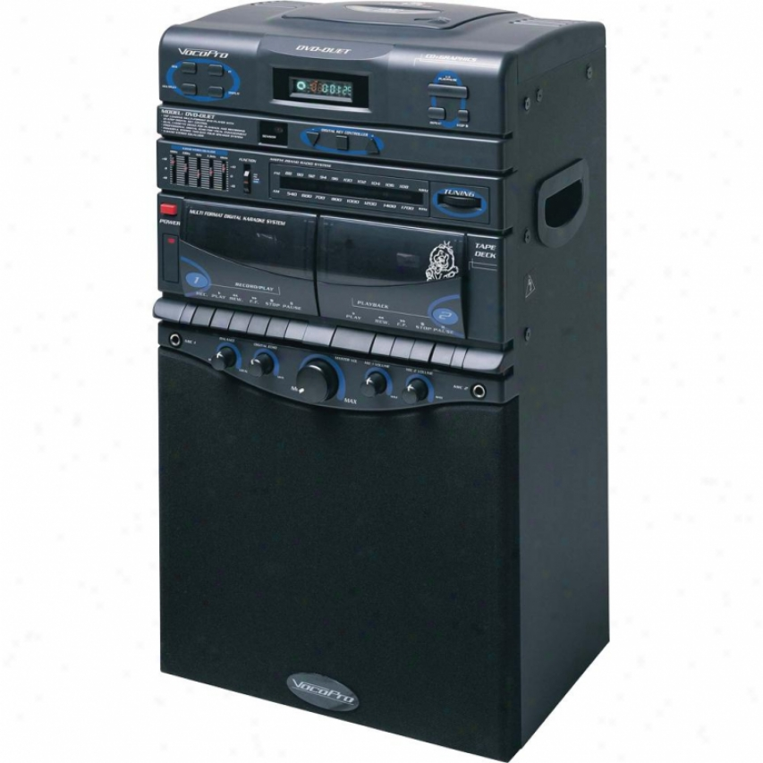 Vocopro Dvd-duet 80-watt Semi-pro Multi-format Vocal Sgstem